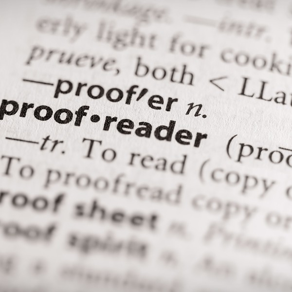 Editing & Proofreading Services